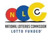 National Lotteries Commission logo.