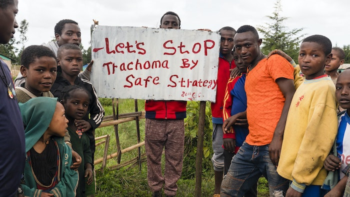 Ethiopians supporting WHO's SAFE Strategy