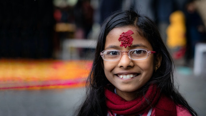 Orbis End of Year Appeal: Megha was diagnosed with amblyopia lazy eye
