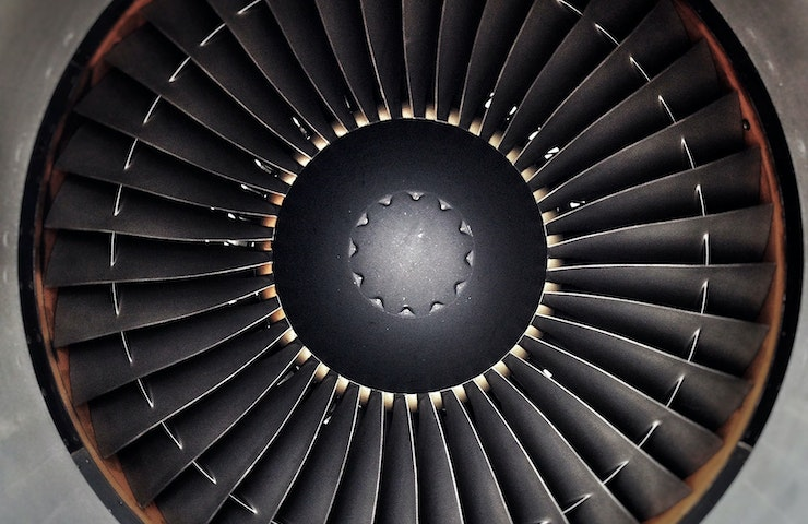 Plane engine showing fact. Elizabeth Thible took to the skies in a hot air balloon and became the first woman to fly