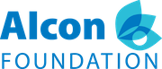 Alcon Foundation logo.