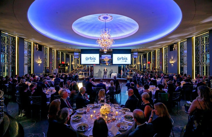 Orbis Gala in the Rainbow room.