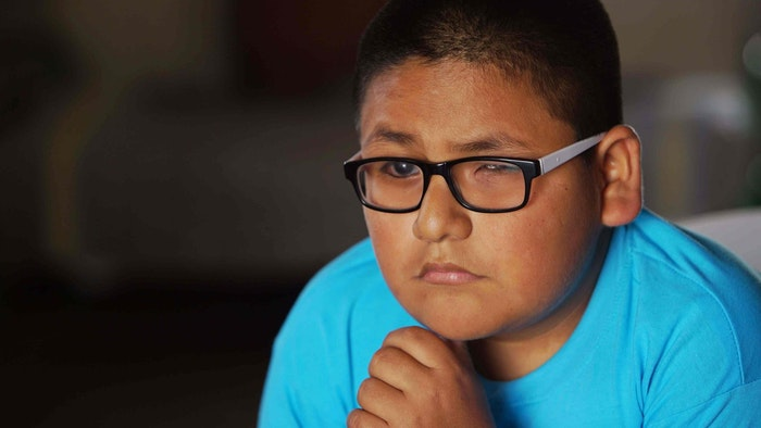 A teenager from Trujillo, Peru, impacted by glaucoma