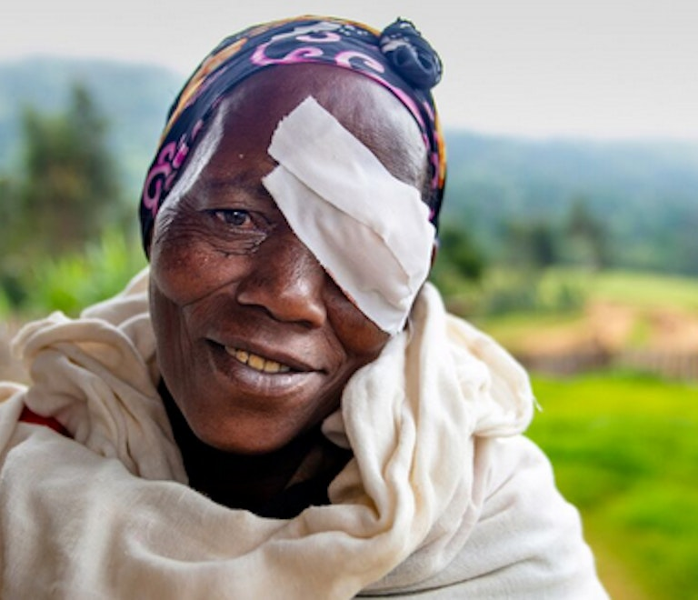 1.8 million people have been left visually impaired by trachoma