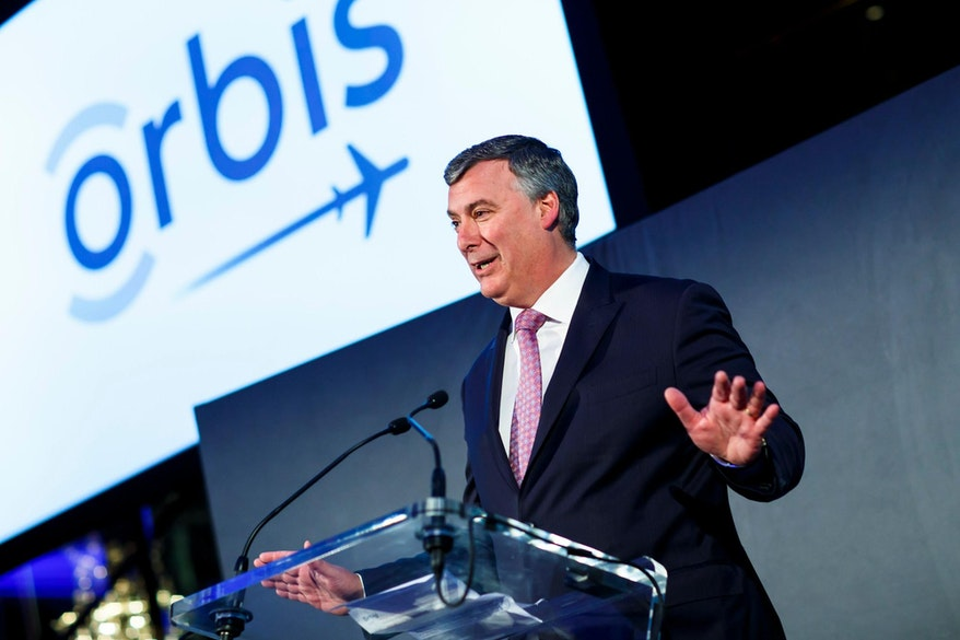 Orbis International Chairman, Kevin McAllister