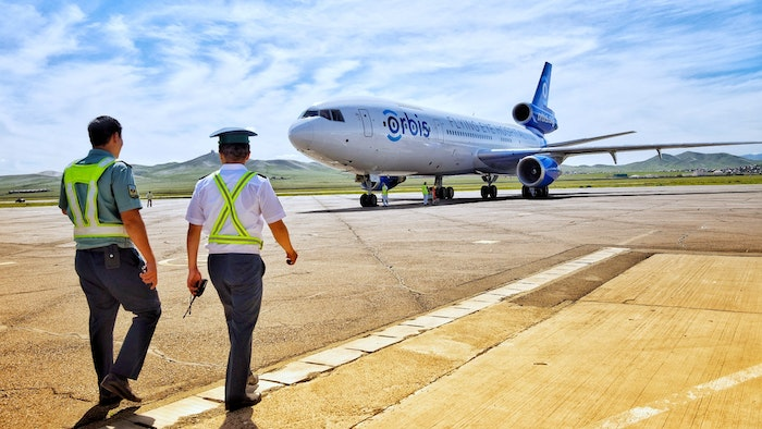 The Flying Eye Hospital touches down in Mongolia