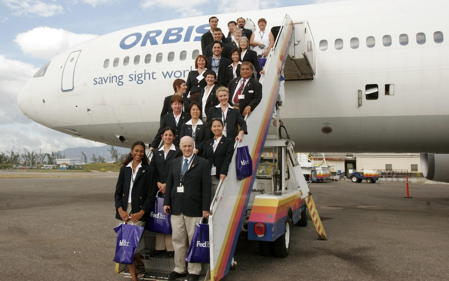 Orbis Flying Eye Hospital Project Jamaica 2006