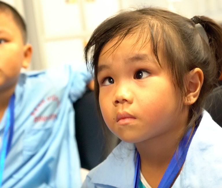 Year-end Orbis Appeal - Ly from Vietnam who couldn't see well due to strabismus