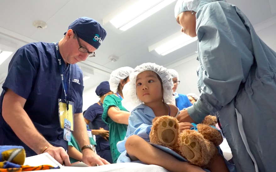 Year-end Orbis Appeal: Brave little Ly waiting for her vision restoring surgery