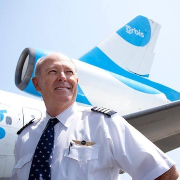 Flying Eye Hospital Pilot Captain Gary Dyson