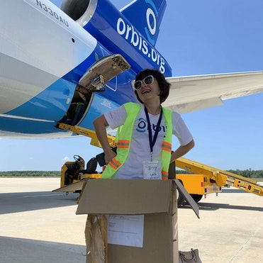 Packing up the Orbis Flying Eye Hospital in Vietnam