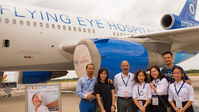 Orbis Flying Eye Hospital project opening ceremony in Vietnam