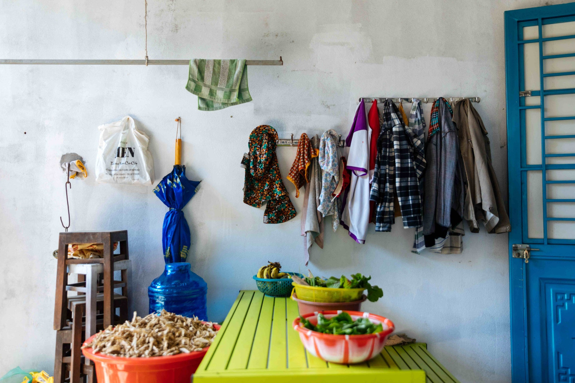 Cataract patient Tam's home in Quy Nhon, Vietnam