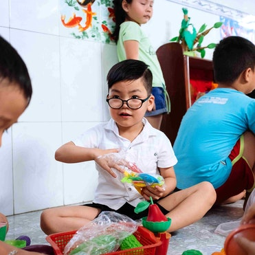 Cataract patient Tam's vision much better and only has to wear glasses to help him see better