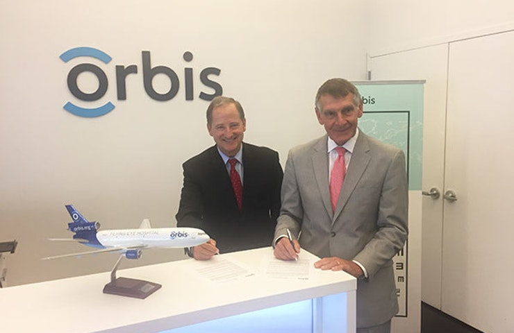 Orbis sign NECO partnership deal.